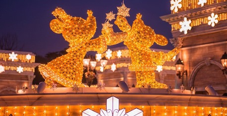 programação de natal Tokyo Disneyland
